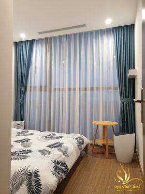 rèm cửa sổ phòng ngủ tại cầu giấy