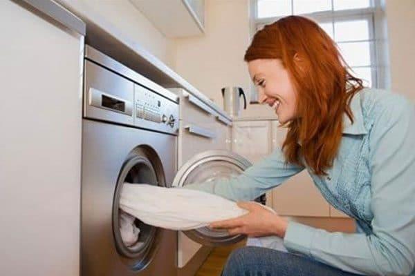 giặt rèm bằng máy giặt